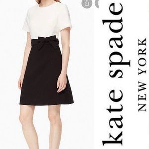 Kate Spade colorblock dress with bow